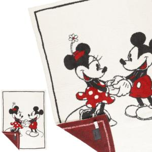 ベアフットドリームス ディズニー  ブランケット ミッキーマウス ミニーマウス ベビーブランケット DISNEY Mickey & Minnie ブランケット 毛布 秋冬 ギフト|beautyholic