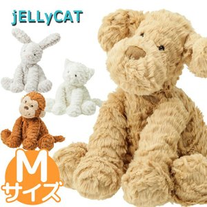 ジェリーキャット jelly cat ぬいぐるみ Mサイズ fuddle wuddle うさぎ 犬 猫 さる おもちゃ シャーロット 子供 幼児|beautyholic