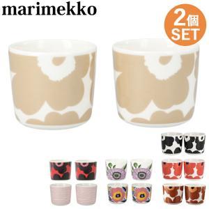 マリメッコ/Marimekko コーヒーカップ 2個セット ウニッコ|beautyholic