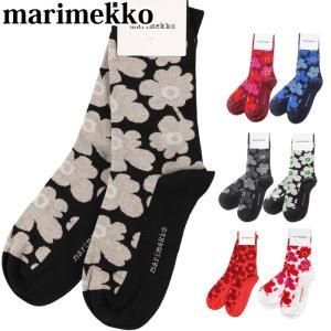 マリメッコ ソックス 靴下 marimekko Hieta Socks ウニッコ レディース ショートソックス メール便|beautyholic