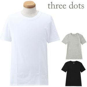 ■商品名 スリードッツ/Tシャツ/メンズ/Three Dots  ■商品説明 色違いで欲しくなる!定...