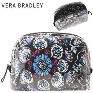 ヴェラブラッドリー/Vera Bradley ミディアム ポーチ 防水ポーチ 化粧ポーチ|beautyholic