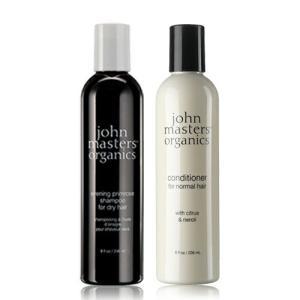 送料無料 ジョンマスターオーガニック John masters organics シトラス&ネロリデタングラー 236ml イブニングプリムローズシャンプー236ml