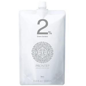 ホーユー プロステップ クリームオキシダン 2% 1000ml beautypromagica
