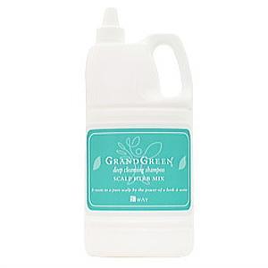 ニューウェイジャパン グラングリーン ディープクレンジングシャンプー 2000ml 詰替え用|beautypromagica