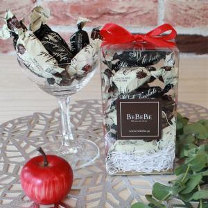 りんごチョコレート 11粒入クリアボックス(ミックス)|bebebe