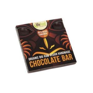 カカオの美味しさを楽しめる限界の高カカオチョコレート。ナツメヤシで甘味され、そしてシナモンで味付けさ...