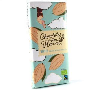 Chocolates from Heaven チョコレーツフロムヘブン ホワイトチョコレート 100gタブレット|bebebe