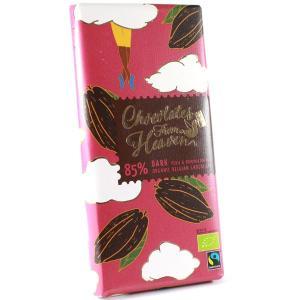 Chocolates from Heaven チョコレーツフロムヘブン ダークチョコレート カカオ85%  100gタブレット|bebebe