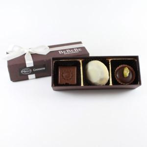 ゴーセンスチョコレート 3粒入|bebebe