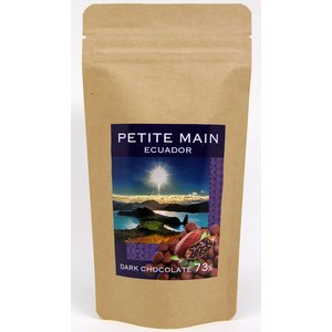 PETITE MAIN プティマ クーベルチュールオリジンチョコ〈エクアドル73%〉100g|bebebe