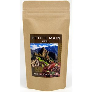 中南米ペルー産カカオ豆使用クーベルチュールチョコレート。 標高の高い国で栽培する貴重なペルー産カカオ...