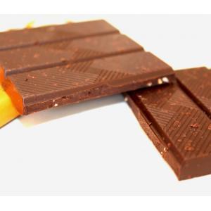 TOHI トヒ ダークチョコレート カカオ74%〈アプリコット&アーモンド〉70gタブレット|bebebe