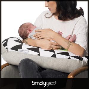 授乳クッション 抱き枕 妊婦 シンプリーグッド ナーシングピロー モノトーンシリーズ|bebechambre