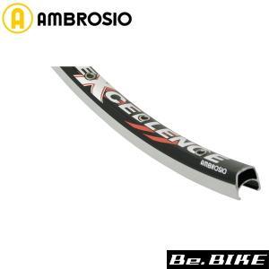 AMBROSIO エクセレンス W/O 700C 32H ブラック 自転車 リム|bebike