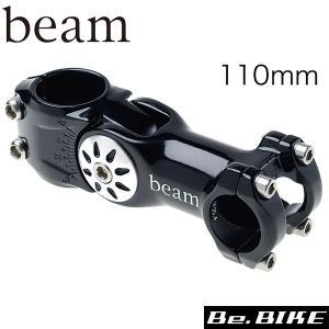 beam XOMアジャストステム 110mmブラック ステム bebike