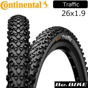 Continental(コンチネンタル) Traffic 26x1.9 black 自転車 タイヤ MTB|bebike