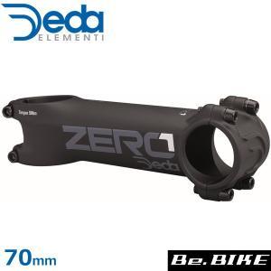 DEDA(デダ) Zero 1 シュレッドレスステム (31.7) ブラック BOB 70mm(DZ1) 自転車 ステム|bebike