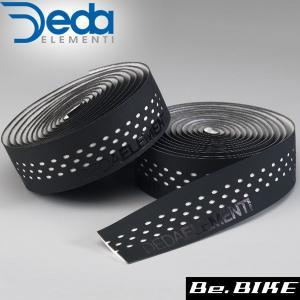 DEDA(デダ) バーテープ PRESA(プレーザ) 401)ブラック/ホワイト 自転車 バーテープ bebike
