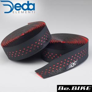 DEDA(デダ) バーテープ PRESA(プレーザ) 402)ブラック/レッド 自転車 バーテープ