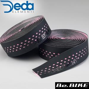 DEDA(デダ) バーテープ PRESA(プレーザ) 404)ブラック/ピンク 自転車 バーテープ bebike