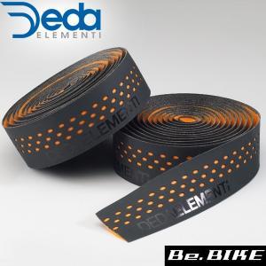 DEDA(デダ) バーテープ PRESA(プレーザ) 405)ブラック/オレンジ 自転車 バーテープ bebike