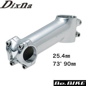 Dixna リードステム 25.4 73°90mm ポリッシュシルバー ステム bebike