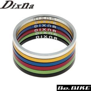 Dixna バンテージヘッドスペーサー2.5mm ブラック ヘッドパーツ bebike|bebike