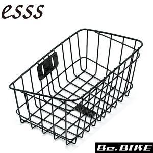 esss ATB-3 カゴのみ ブラック バスケット|bebike