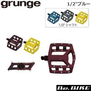gurunge(グランジ) フラットペダル ネオ 1/2 ブルー 自転車 ペダル|bebike