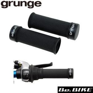 gurunge(グランジ) Sロックショートスリムグリップ ブラック 自転車 グリップ|bebike