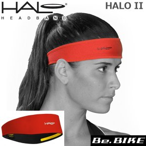 HALO ヘイロ-2 プルオーバー レッド 自転車 ヘッドバンド|bebike