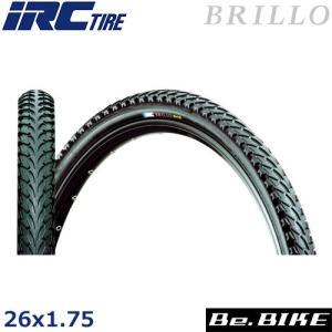 IRC ブリロ (オールブラック) 26x1.75  自転車 タイヤ|bebike