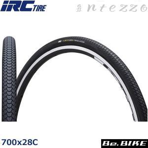 IRC インテッツオ (オールブラック) 700x28C 自転車 タイヤ|bebike