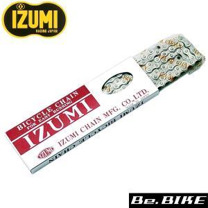IZUMI 1/8 CP チェーン 410NP×106L 自転車 チェーン bebike