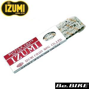 IZUMI 3/32 CP チェーン 410×116L 自転車 チェーン bebike