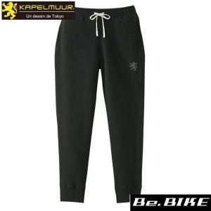 カペルミュール フレンチテリースウェットパンツ ブラック 自転車 サイクルウエア パンツ