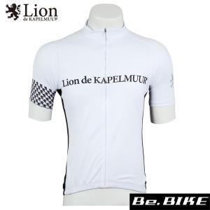 カペルミュール 半袖ジャージ アラベスク ホワイト 自転車 サイクルウエア (lihs207)