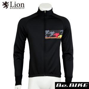 カペルミュール レーシングサーモジャケット ビッグチドリ ブラック 自転車 サイクルウエア ジャケッ...