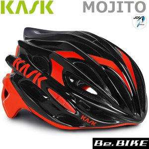 カスク(KASK) MOJITO ブラック/レッド  自転車 ヘルメット|bebike