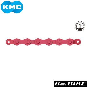 KMC Z410カラー ピンク 自転車 チェーン bebike