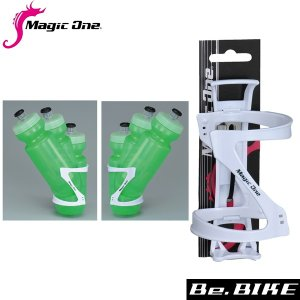 Magic one Zボトルケージ ホワイト 自転車 ボトルケージ bebike