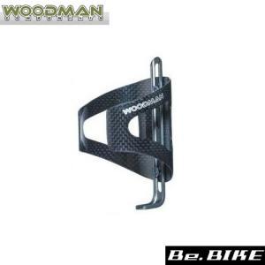 WOODMAN カーボケージAJ ブラック 自転車 ボトルケージ|bebike