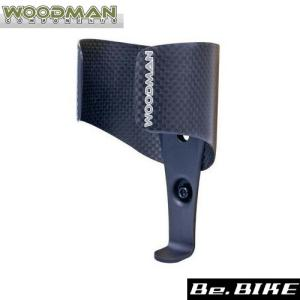 WOODMAN カーボケージ 自転車 ボトルケージ|bebike