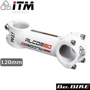iTM(アイティーエム) iTM ALCOR 80 ホワイト 120mm 自転車 ステム|bebike