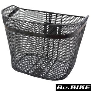 センタン ES-66 メッシュカゴ ブラック 自転車 フロントバスケット|bebike
