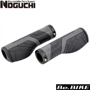 NOGUCHI NGS-003 エルゴグリップ ブラック 自転車 グリップ|bebike