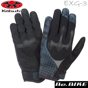 OGK KABUTO(オージーケー) EXG-3 (指付き) ブラックブラック  自転車 グローブ bebike