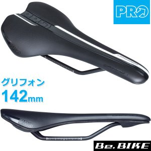 PRO グリフォン ブラック 142mm (R20RSA0227X) 自転車 サドル