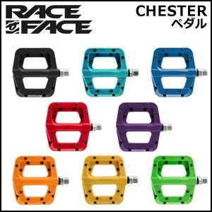 RACE FACE (レースフェイス) CHESTER 自転車 ペダル [左右セット] bebike